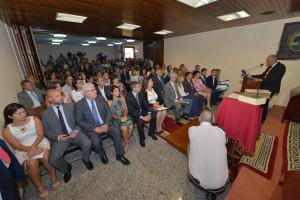 El Salón de Plenos presentó un lleno total en esta sesión constitutiva (1)