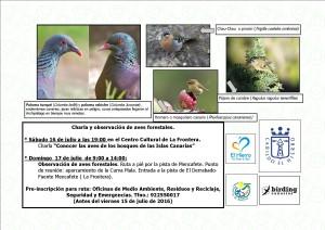 Conocer las aves de los bosques 16 Y 17 DE JULIO def